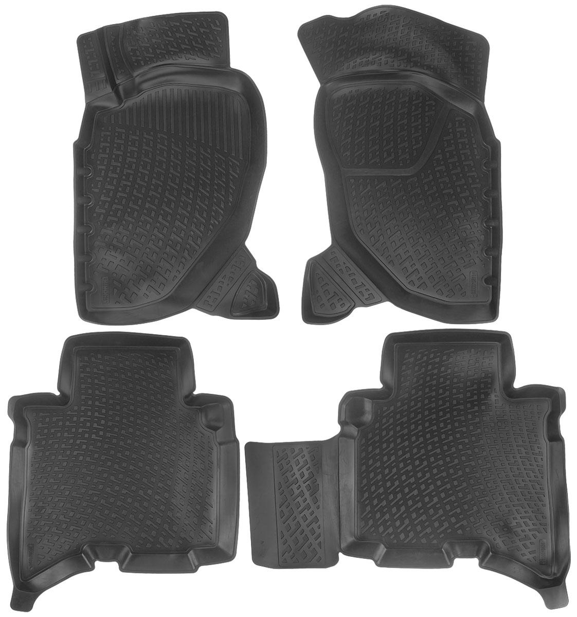 Набор автомобильных ковриков L.Locker Great Wall Hover H3/H5 2010, в салон, 4 шт0206130101Набор L.Locker Great Wall Hover H3/H5 2010, изготовленный из полиуретана, состоит из 4 антискользящих 3D ковриков, которые производятся индивидуально для каждой модели автомобиля. Изделие точно повторяет геометрию пола автомобиля, имеет высокий борт, обладает повышенной износоустойчивостью, лишено резкого запаха и сохраняет свои потребительские свойства в широком диапазоне температур от -50°С до +50°С.Комплектация: 4 шт.Размер ковриков: 80 см х 50 см; 84 см х 62 см; 73 см х 60 см; 80 см х 52 см.