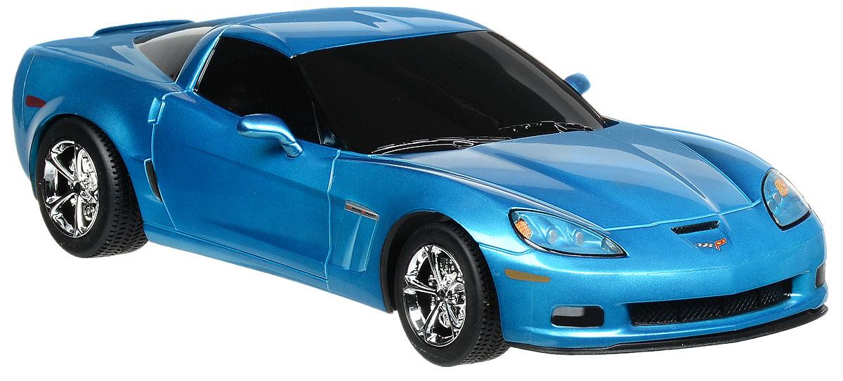 """Радиоуправляемая модель Rastar """"Chevrolet Corvette C6 GS"""" станет отличным подарком любому мальчику! Все дети хотят иметь в наборе своих игрушек ослепительные, невероятные и крутые автомобили на радиоуправлении. Тем более, если это автомобиль известной марки с проработкой всех деталей, удивляющий приятным качеством и видом. Одной из таких моделей является автомобиль на радиоуправлении Rastar """"Chevrolet Corvette C6 GS"""". Это точная копия настоящего авто в масштабе 1:18. Авто обладает неповторимым провокационным стилем и спортивным характером. Потрясающая маневренность, динамика и покладистость - отличительные качества этой модели. Возможные движения: вперед, назад, вправо, влево, остановка. Пульт управления работает на частоте 27 MHz. Для работы игрушки необходимы 4 батарейки типа АА (не входят в комплект). Для работы пульта управления необходимы 2 батарейки типа АА (не входят в комплект)."""