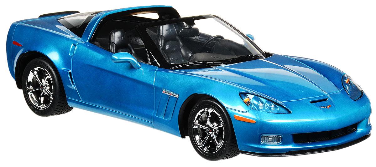"""Радиоуправляемая модель Rastar """"Chevrolet Corvette C6 GS"""" станет отличным подарком любому мальчику! Все дети хотят иметь в наборе своих игрушек ослепительные, невероятные и крутые автомобили на радиоуправлении. Тем более, если это автомобиль известной марки с проработкой всех деталей, удивляющий приятным качеством и видом. Одной из таких моделей является автомобиль на радиоуправлении Rastar """"Chevrolet Corvette C6 GS"""". Это точная копия настоящего авто в масштабе 1:12. Авто обладает неповторимым провокационным стилем и спортивным характером. Потрясающая маневренность, динамика и покладистость - отличительные качества этой модели. Возможные движения: вперед, назад, вправо, влево, остановка. Имеются световые эффекты. Пульт управления работает на частоте 27 MHz. Для работы игрушки необходимы 5 батареек типа АА (не входят в комплект). Для работы пульта управления необходима 1 батарейка 9V (6F22) (не входит в комплект)."""
