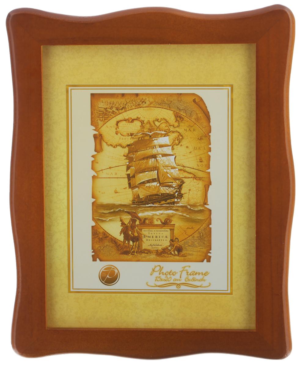 Фоторамка Pioneer Susanna, цвет: коричневый, 15 x 20 смTHN132NФоторамка Pioneer Susanna выполнена из высококачественного дерева и стекла, защищающего фотографию. Оборотная сторона рамки оснащена специальной ножкой, благодаря которой ее можно поставить на стол или любое другое место в доме или офисе. Также на изделии имеются два специальных отверстия для подвешивания. Такая фоторамка поможет вам оригинально и стильно дополнить интерьер помещения, а также позволит сохранить память о дорогих вам людях и интересных событиях вашей жизни.