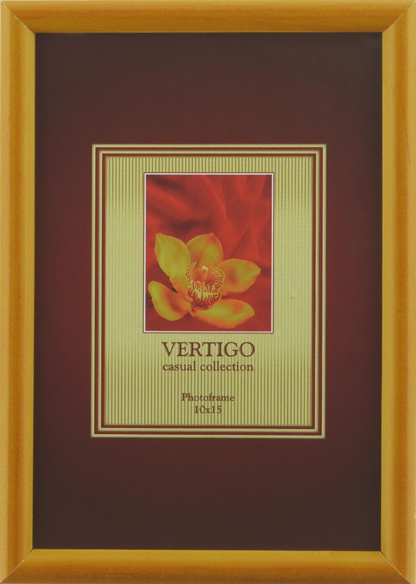 Фоторамка Vertigo Veneto, цвет: светло-коричневый, 10 х 15 см12723Фоторамка Vertigo Veneto выполнена из дерева и стекла, защищающего фотографию. Оборотная сторона рамки оснащена специальной ножкой, благодаря которой ее можно поставить в любое удобное место в доме или офисе. Также изделие оснащено специальными отверстиями для подвешивания на стену.Такая фоторамка поможет вам оригинально и стильно дополнить интерьер помещения, а также позволит сохранить память о дорогих вам людях и интересных событиях вашей жизни.
