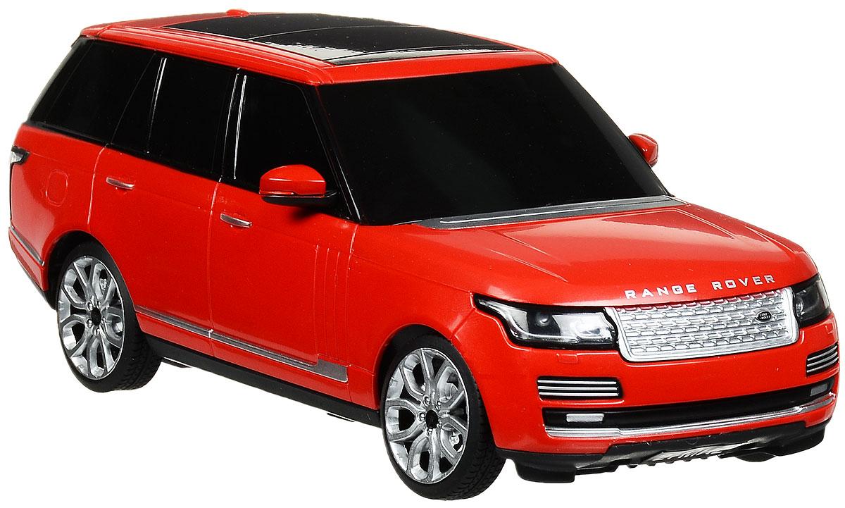 """Радиоуправляемая модель Rastar """"Range Rover"""" станет отличным подарком любому мальчику! Все дети хотят иметь в наборе своих игрушек ослепительные, невероятные и крутые автомобили на радиоуправлении. Тем более, если это автомобиль известной марки с проработкой всех деталей, удивляющий приятным качеством и видом. Одной из таких моделей является автомобиль на радиоуправлении Rastar """"Range Rover"""". Это точная копия настоящего авто в масштабе 1:24. Авто обладает неповторимым провокационным стилем и спортивным характером. Потрясающая маневренность, динамика и покладистость - отличительные качества этой модели. Возможные движения: вперед, назад, вправо, влево, остановка. Имеются световые эффекты. Пульт управления работает на частоте 27 MHz. Для работы игрушки необходимы 3 батарейки типа АА (не входят в комплект). Для работы пульта управления необходимы 2 батарейки типа АА (не входят в комплект)."""