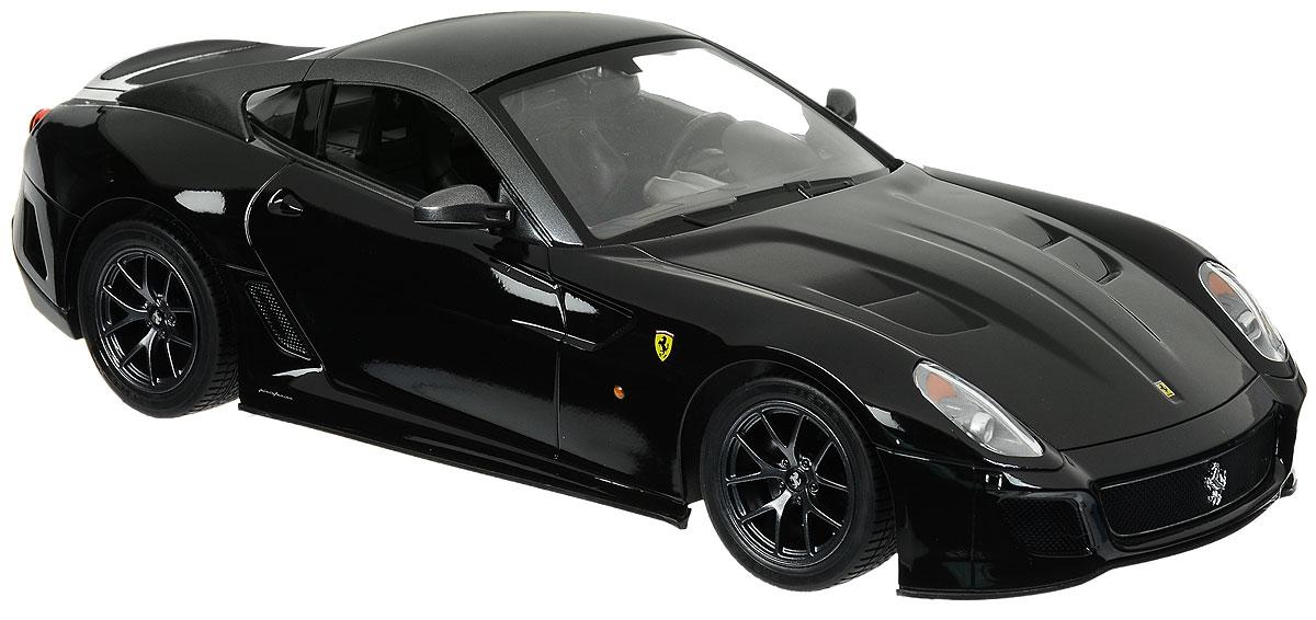 """Радиоуправляемая модель Rastar """"Ferrari 599 GTO"""" станет отличным подарком любому мальчику! Все дети хотят иметь в наборе своих игрушек ослепительные, невероятные и крутые автомобили на радиоуправлении. Тем более, если это автомобиль известной марки с проработкой всех деталей, удивляющий приятным качеством и видом. Одной из таких моделей является автомобиль на радиоуправлении Rastar """"Ferrari 599 GTO"""". Это точная копия настоящего авто в масштабе 1:14. Авто обладает неповторимым провокационным стилем и спортивным характером. Потрясающая маневренность, динамика и покладистость - отличительные качества этой модели. Возможные движения: вперед, назад, вправо, влево, остановка. Имеются световые эффекты. Пульт управления работает на частоте 40 MHz. Для работы игрушки необходимы 5 батареек типа АА (не входят в комплект). Для работы пульта управления необходима 1 батарейка 9V (6F22) (не входит в комплект)."""