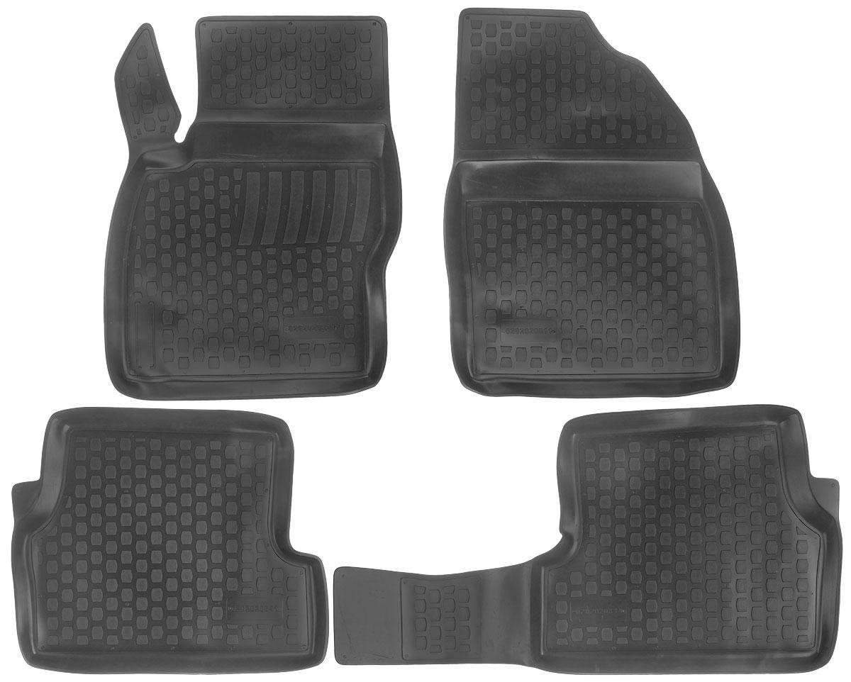 Набор автомобильных ковриков L.Locker Ford Focus (2) 2008, в салон, 4 штVT-1520(SR)Набор L.Locker Ford Focus (2) 2008, изготовленный из полиуретана, состоит из 4 ковриков, которые производятся индивидуально для каждой модели автомобиля. Изделие точно повторяет геометрию пола автомобиля, имеет высокий борт, обладает повышенной износоустойчивостью, лишен резкого запаха и сохраняет свои потребительские свойства в широком диапазоне температур от -50°С до +80°С.Комплектация: 4 шт.Размер ковриков: 69 см х 50 см; 56 см х 47 см; 48 см х 91 см; 69см х 51 см.