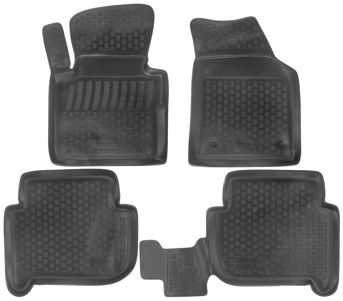 Набор автомобильных ковриков L.Locker Volkswagen Touran 2003, в салон, 4 штTER-555 BKНабор L.Locker Volkswagen Touran 2003, изготовленный из полиуретана, состоит из 4 антискользящих 3D ковриков,которые производятся индивидуально для каждой моделиавтомобиля. Изделие точно повторяет геометрию пола автомобиля, имеет высокийборт, обладает повышенной износоустойчивостью, лишено резкого запаха и сохраняет своипотребительские свойства в широком диапазоне температур от -50°С до +50°С.Комплектация: 4 шт.Размер ковриков: 73 см х 54 см; 60 см х 56 см; 91 см х 56 см; 68 см х 49 см.