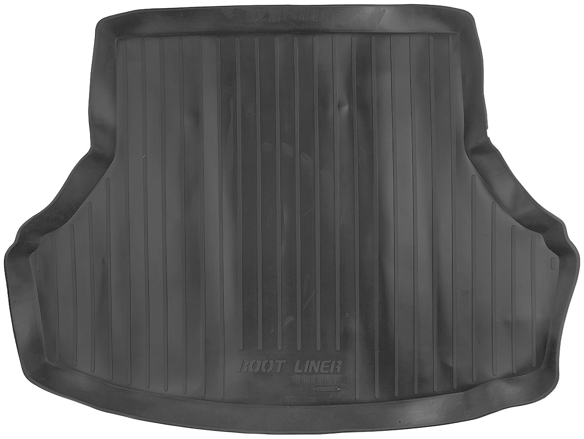 Коврик в багажник L.Locker, для Lada Granta sd (11-)0209040501Коврик L.Locker производится индивидуально для каждой модели автомобиля из современного и экологически чистого материала. Изделие точно повторяет геометрию пола автомобиля, имеет высокий борт, обладает повышенной износоустойчивостью, антискользящими свойствами, лишен резкого запаха и сохраняет свои потребительские свойства в широком диапазоне температур (от -50°С до +80°С).