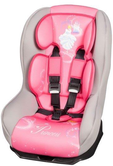 Детское автокресло Nania Driver Disney Princess 043626 изготовлено из высококачественных материалов. Благодаря данному автокреслу вы сможете удобно и комфортно расположить ребенка. С помощью специальных регулировок есть возможность легко настроить положения кресла подстраиваясь под рост малыша. Представленная модель оснащена усиленной боковой защитой, а также штатным ремнем при помощи которого осуществляется крепление.