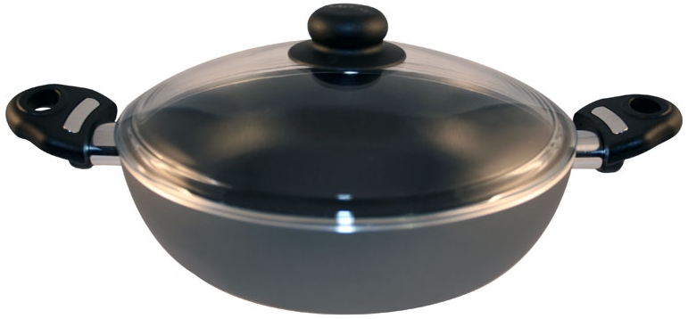 Жаровня глубокая d 240 мм 2 р.с антипригарным покрытием, ст. крышка SCOVO. СД-012/С-601, серебристый115510Жаровня глубокая d 240 мм 2 р.с антипригарным покрытием, ст. крышка SCOVO. СД-012/С-601, серебристый Материал: Алюминий; цвет: серебристый