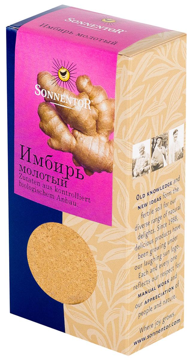 Sonnentor Имбирь молотый, 35 г соусы и специи