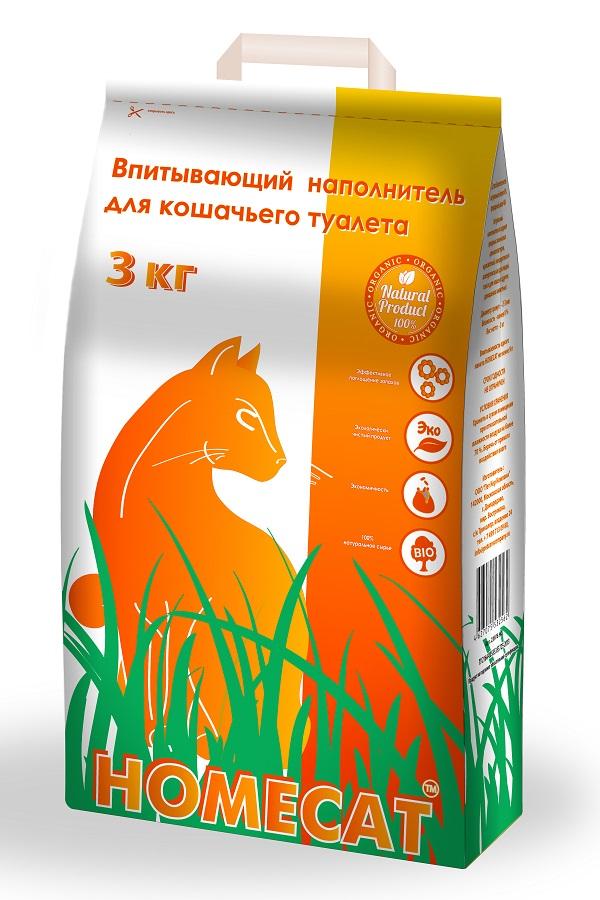 Наполнитель для кошачьего туалета Homecat, 5 л12171996Натуральный впитывающий наполнитель для кошачьего туалета Homecat создан на основе природных цеолитов, безопасен как для домашних питомцев, так и для владельцев. Гранулы не прилипают к шерсти и лапам. Поглощает неприятные запахи.