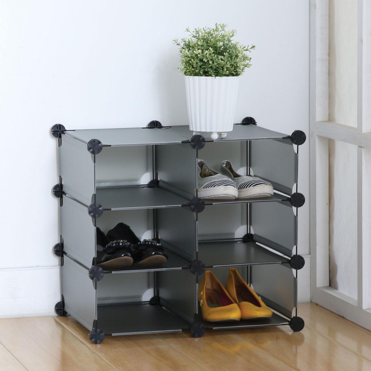 Стеллаж Miolla, 6 модулей, 49 х 33 х 44,5 смRG-D31SУниверсальный стеллаж Miolla состоит из 6 модулей, изготовлен из пластика. Такой стеллаж можно разместить где угодно: в ванной, в спальне, в прихожей. Благодаря стильному дизайну и компактному размеру, стеллаж займет достойное место в любом уголке дома.Размер стеллажа: 49 см х 33 см х 44,5 см.
