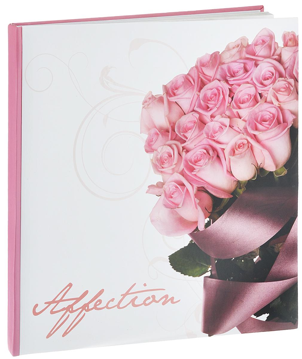Фотоальбом Pioneer Romantic Flower, 10 магнитных листов, 29 см х 32 см74-0060Фотоальбом Pioneer Romantic Flower, изготовленный из картона с клеевым покрытием и пленки ПВХ, сохранит моменты ваших счастливых мгновений на своих страницах! Альбом с магнитными листами удобен тем, что он позволяет размещать фотографии разных размеров. Магнитные страницы обладают следующими преимуществами: - Не нужно прикладывать усилий для закрепления фотографий, - Не нужно заботиться о размерах фотографий, так как вы можете вставить в альбом фотографии разных размеров, - Защита фотографий от постоянных прикосновений зрителей с помощью пленки ПВХ.Нам всегда так приятно вспоминать о самых счастливых моментах жизни, запечатленных на фотографиях. Поэтому фотоальбом является универсальным подарком к любому празднику. Вашим родным, близким и просто знакомым будет приятно помещать фотографии в этот альбом.Количество листов: 10 шт.Размер листа: 29 см х 32 см.