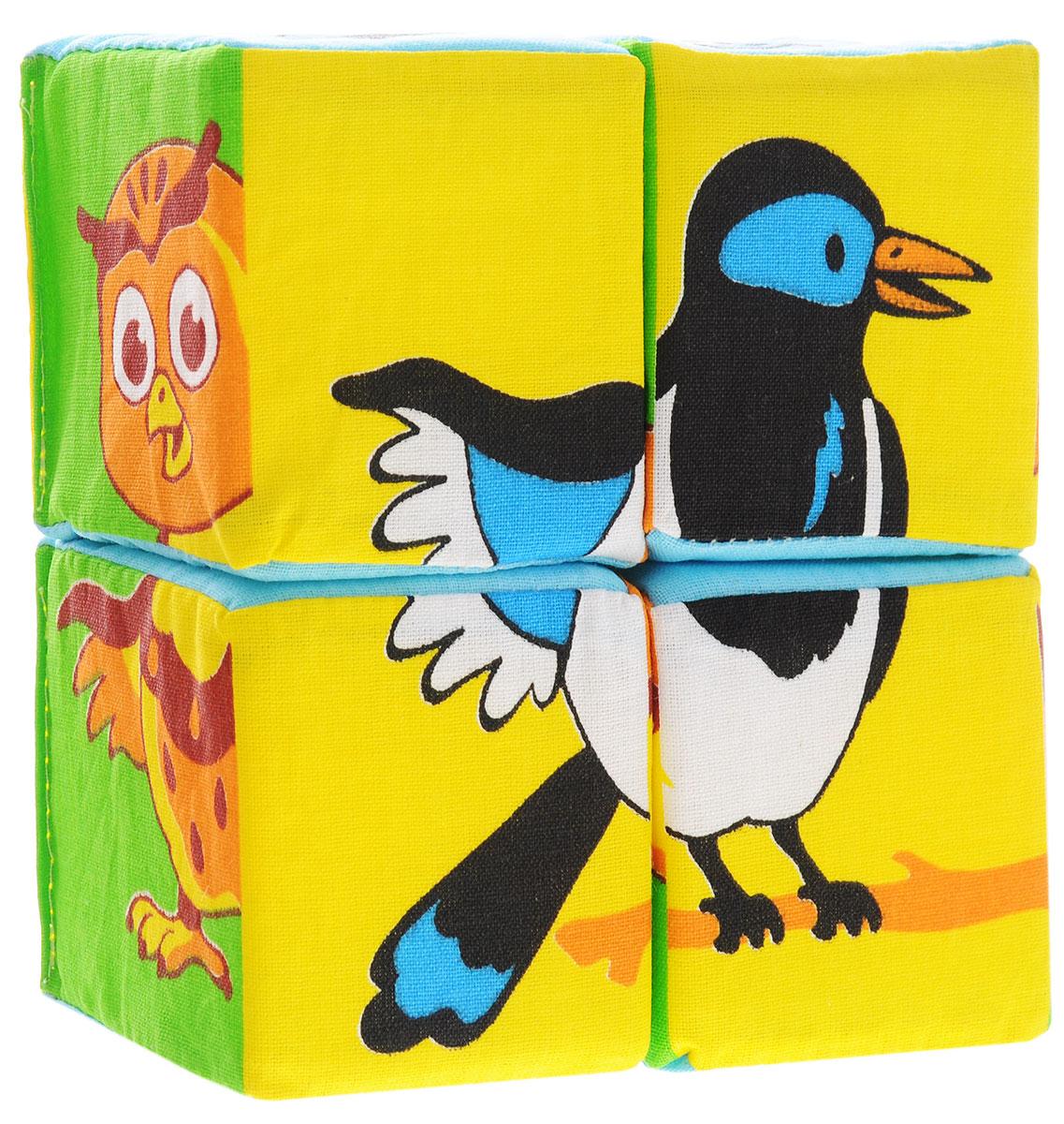 Мякиши Развивающая игрушка Собери картинку Птицы
