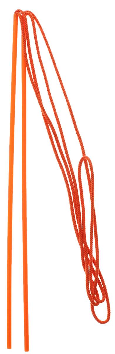 """С игрушкой для пускания мыльных пузырей Пузырия """"Веревки пузыревки"""" вы можете удивить своих друзей и знакомых, а так же создать необычный праздник для детей. Игрушка представлена в виде двух палочек и веревок. Для гигантских пузырей необходимо опустить в готовый раствор веревки на 30 секунд (проследите, чтобы веревки были полностью опущены в раствор), взять за ручки и аккуратно достать из раствора, теперь можно пускать пузыри. Устройте праздник мыльных пузырей, сделайте свой день незабываемым."""