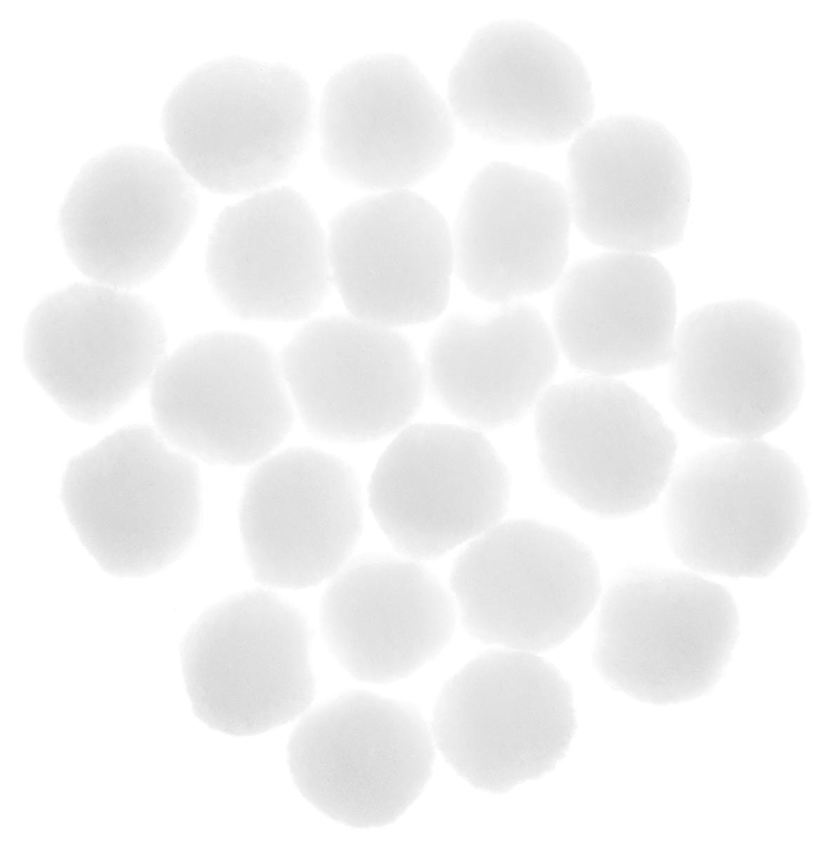 Декоративное украшение Lunten Ranta Снежки, диаметр 3 см, 25 штK100Декоративные украшения Lunten Ranta Снежки отлично подойдут для декорации вашего дома в преддверии Нового года. В наборе - 25 украшений, выполненных из полиэстера в виде маленьких комочков снега. Создайте в своем доме атмосферу веселья и радости, оформляя всей семьей комнату украшениями, которые будут из года в год накапливать теплоту воспоминаний.