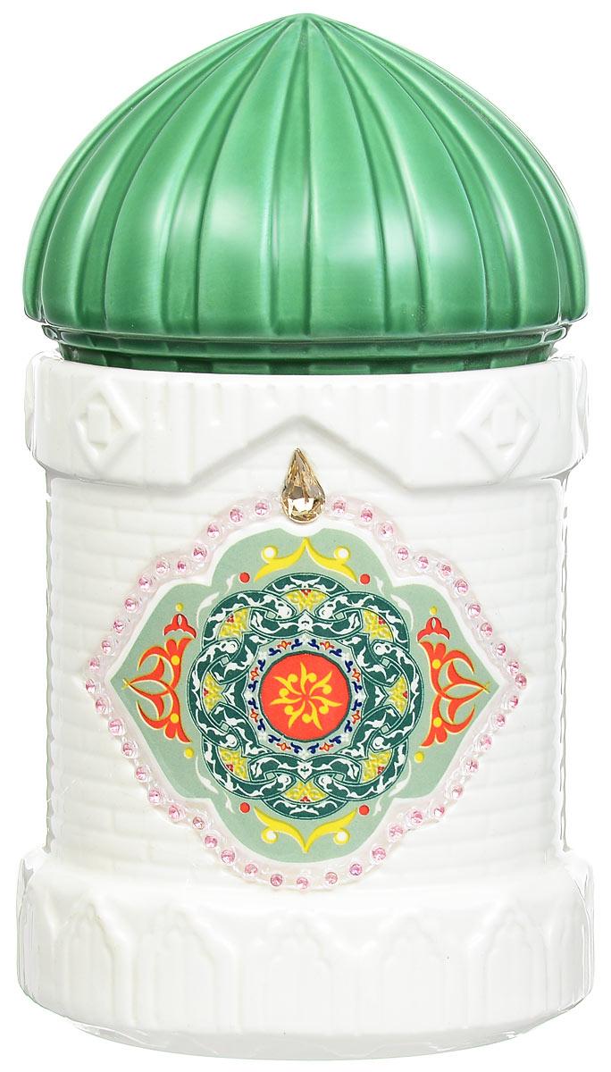 Hilltop Подарок Цейлона черный листовой чай в чайнице Восточное созвездие, 100 г0120710Hilltop Подарок Цейлона - крупнолистовой цейлонский черный чай с глубоким насыщенным вкусом и изумительным ароматом. Помимо великолепного чая, в комплекте вы найдете керамическую чайницу Восточное созвездие.