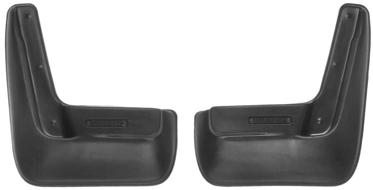 Комплект задних брызговиков L.Locker, для Nissan Almera IV (13-), 2 шт4620019034603Комплект L.Locker состоит из 2 задних брызговиков, изготовленных из высококачественного полиуретана. Уникальный состав брызговиков допускает их эксплуатацию в широком диапазоне температур: от -50°С до +50°С. Изделия эффективно защищают кузов автомобиля от грязи и воды, формируют аэродинамический поток воздуха, создаваемый при движении вокруг кузова таким образом, чтобы максимально уменьшить образование грязевой измороси, оседающей на автомобиле. Разработаны индивидуально для каждой модели автомобиля. С эстетической точки зрения брызговики являются завершением колесных арок.Установка брызговиков достаточно быстрая. В комплект входят необходимые крепежи и инструкция на русском языке. Комплект подходит для моделей с 2013 года выпуска.Комплектация: 2 шт.Размер брызговика: 23 см х 25 см х 4 см.