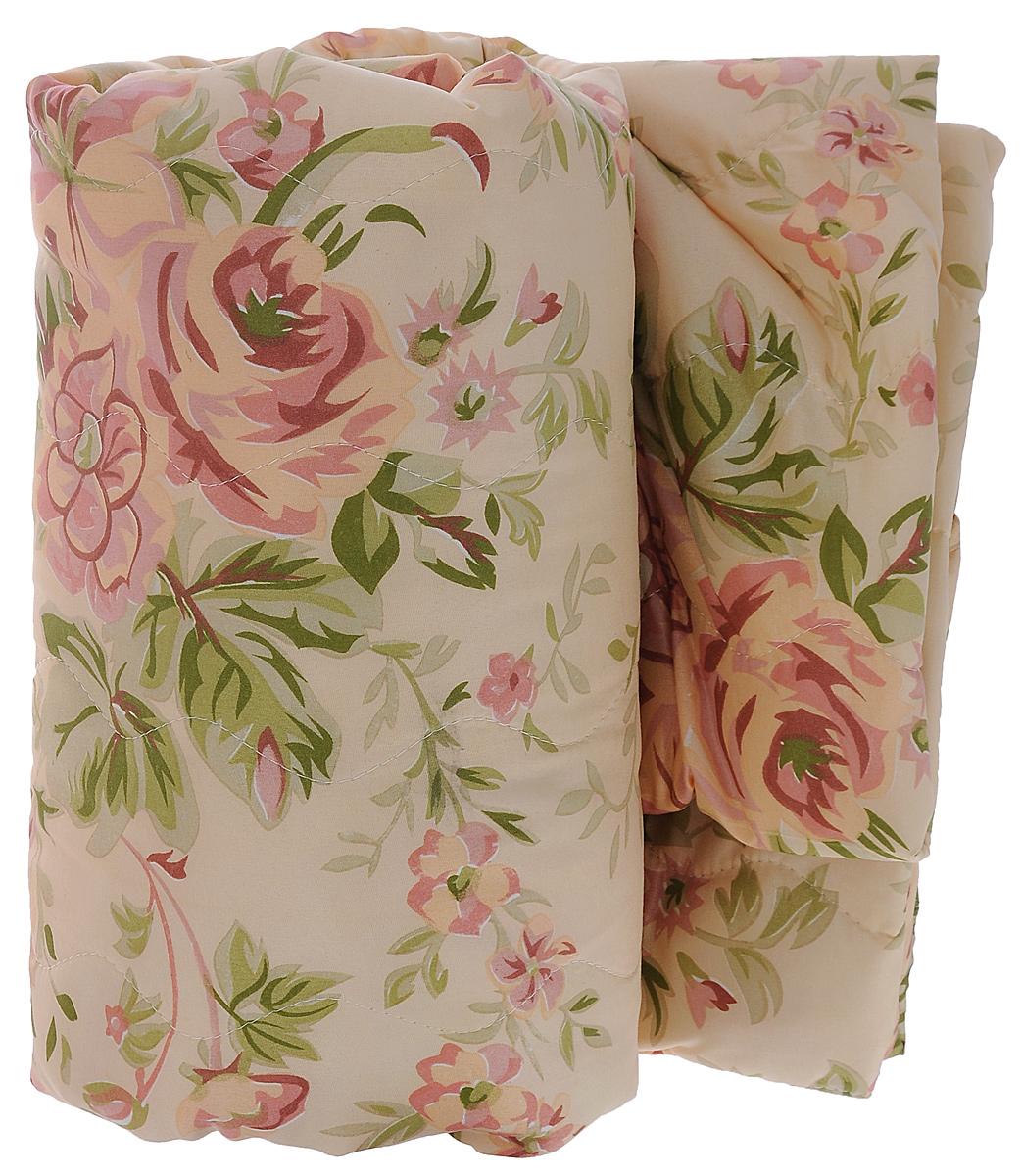 Покрывало стеганое Ноты счастья, цвет: бежевый, розовый, 210 х 240 смU210DFИзящное стеганое покрывало Ноты счастья изготовлено из полиэстера розового цвета с красочным цветочным рисунком. Внутри - наполнитель из синтепона. Такое покрывало гармонично впишется в интерьер вашего дома и создаст атмосферу уюта и комфорта. Мягкое и теплое, покрывало может быть использовано в качестве одеяла: наполнитель из синтепона прекрасно сохраняет тепло.