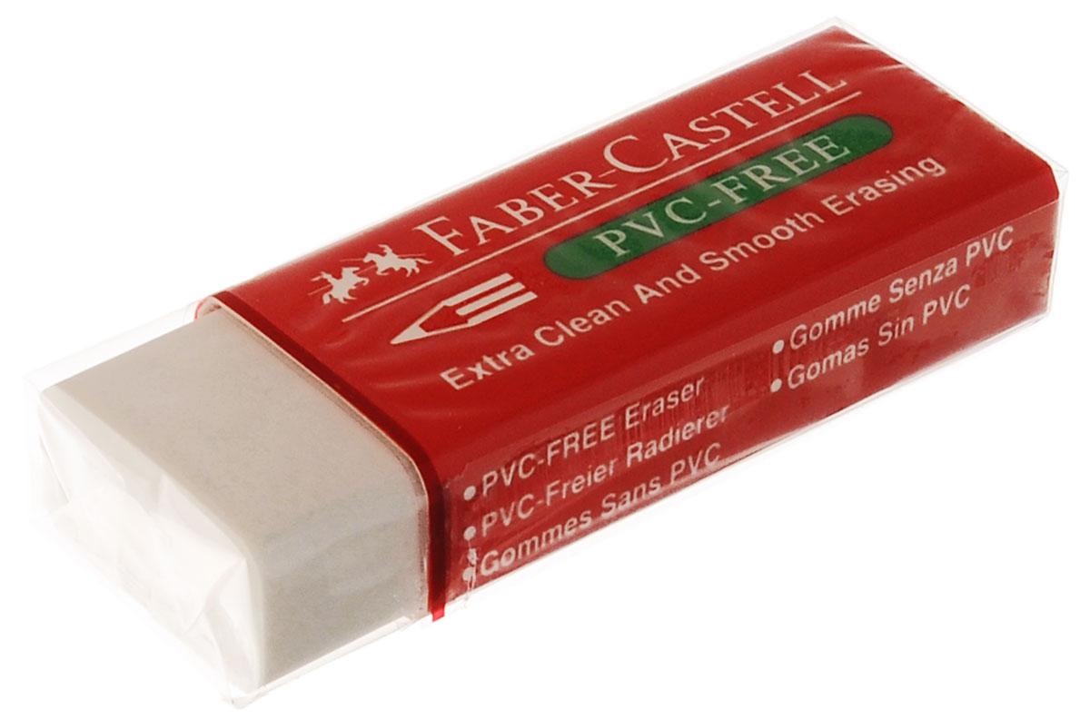 Faber-Castell Ластик термический72523WDТермический ластик Faber-Castell из термопластического материала в красной защитной упаковке не содержит ПВХ, пригоден для графитных простых и цветных карандашей. Размеры ластика: 6 см х 2 см х 1 см.