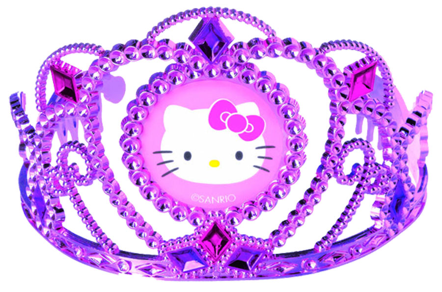 Веселая затея Тиара Hello Kitty костюм китти hello kitty