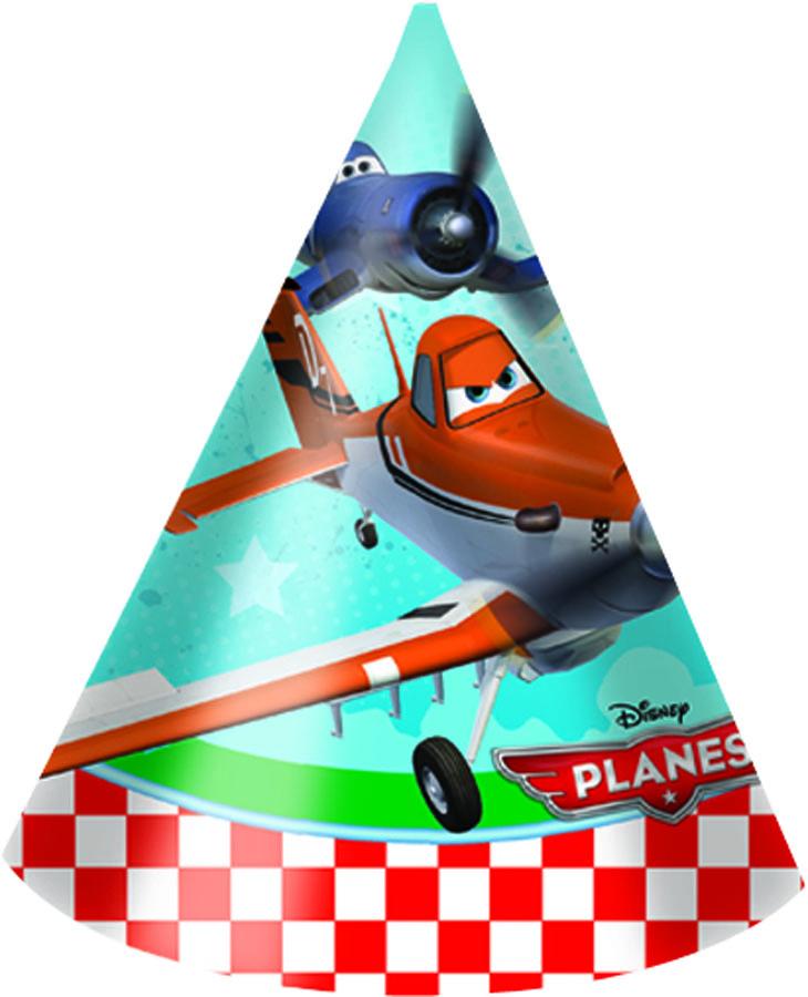 Веселая затея Колпак Самолеты 6 шт