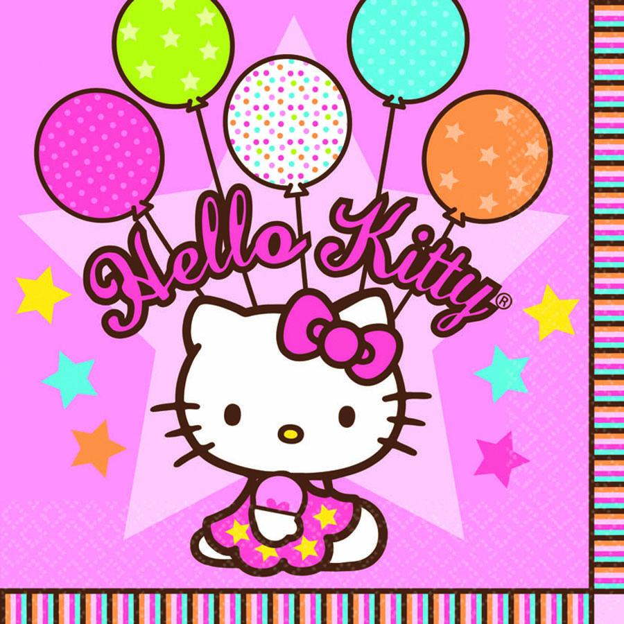 Amscan Салфетка Hello Kitty 33 х 33 см 16 шт