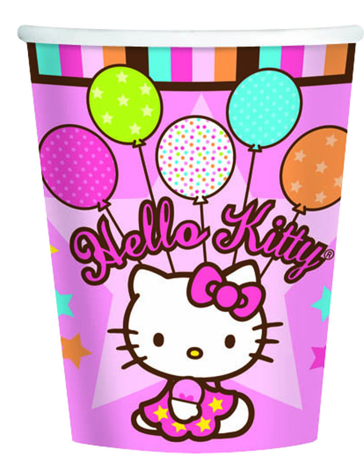 Amscan Стакан Hello Kitty 8 шт