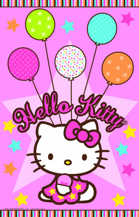 AmscanСкатерть Hello Kitty 140 см х 260 см Amscan