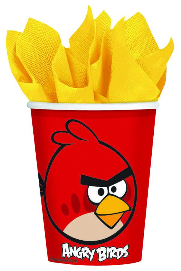 Amscan Стакан Angry Birds 8 шт