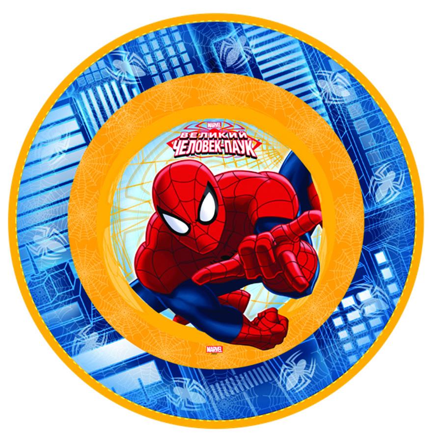 Веселая затея Тарелка Marvel Челов-Паук 17 см 6 шт