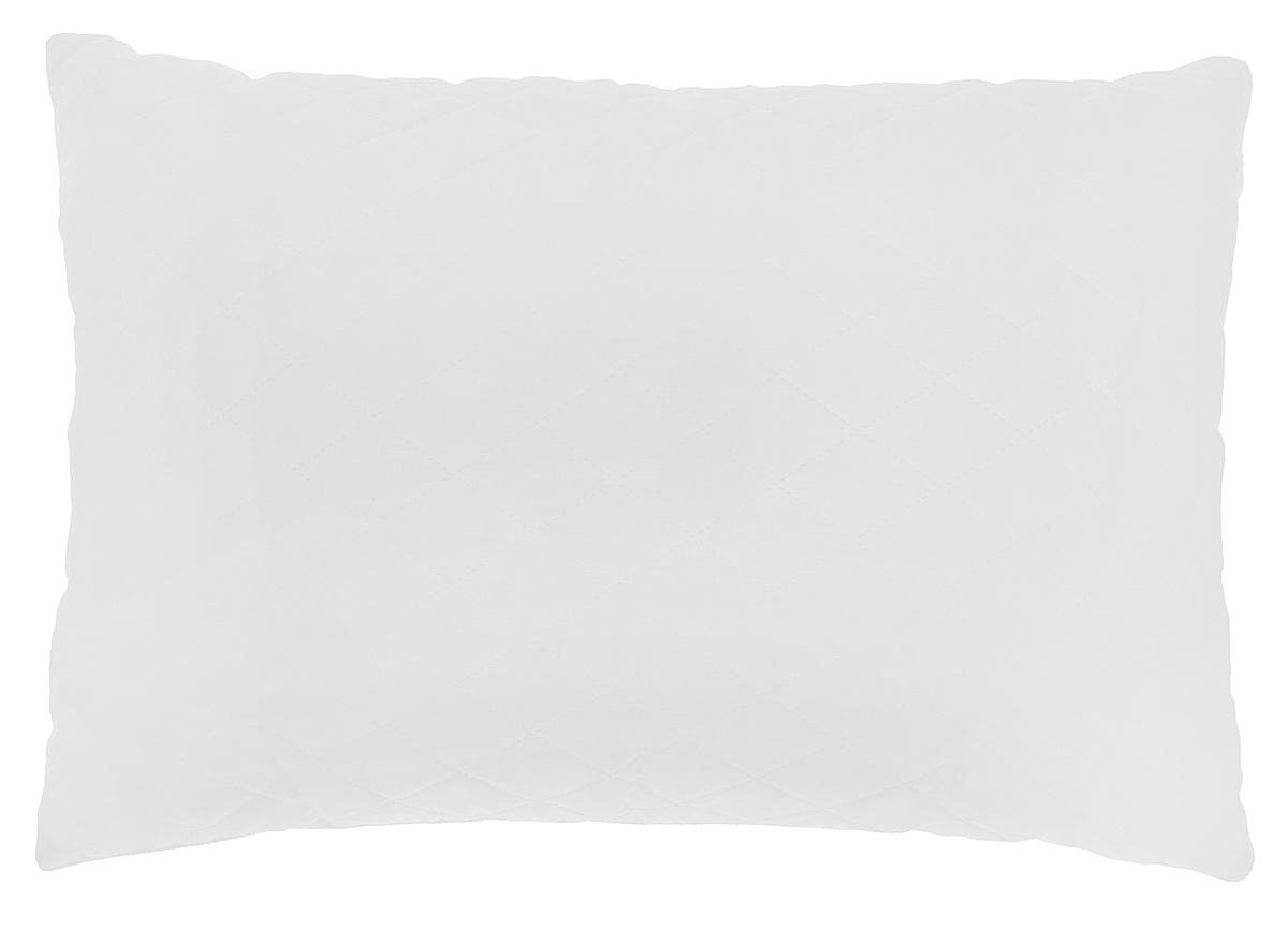 Подушка Подушкино Снежана, наполнитель: экофайбер, цвет: белый, 50 х 72 смWUB 5647 weisПодушка Подушкино Снежана создаст комфорт и уют во время сна. Чехол выполнен изхлопка и полиэстера. Внутри - экофайбер. Подушка с экологически чистым заменителем пуха - экофайбером - не вызывает аллергии, надолго сохраняет упругость и первоначальную форму. Подушка снабжена потайной молнией, с помощью которой вы сможете отрегулировать объем по собственному вкусу. Размер подушки: 50 см х 72 см.Состав чехла: 70% хлопок, 30% полиэстер.Наполнитель: экофайбер (100% полиэстер).
