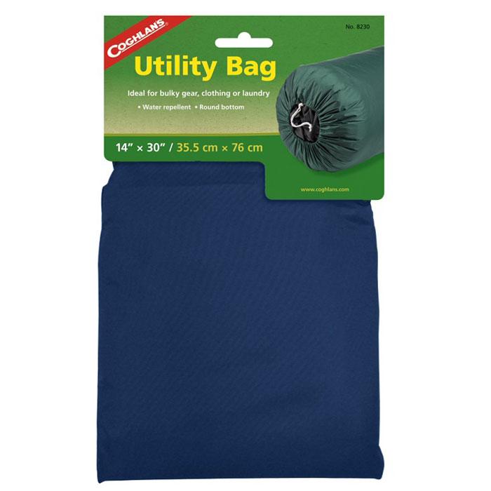 Нейлоновый мешок для вещей Coghlans, цвет: синий, 35,5 см х 35,5 см х 76 см2427560489Легкий нейлоновый мешок Coghlans отлично подходит для хранения одежды и белья. Акриловое водоотталкивающее покрытие, шнур для затягивания горловины мешка.