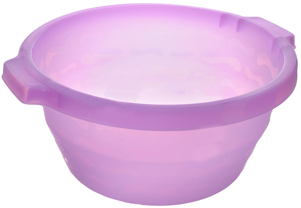 Таз Gensini, цвет: сиреневый, 14 л531-105Таз Gensini изготовлен из высококачественного полупрозрачного пластика. Он выполнен в классическом круглом варианте. Для удобного использования таз снабжен двумя ручками. Благодаря легкости и современному дизайну таз Gensini станет незаменимым помощником и отлично впишется в интерьер вашей ванной комнаты. Диаметр (по верхнему краю): 39 см. Высота таза: 18 см.