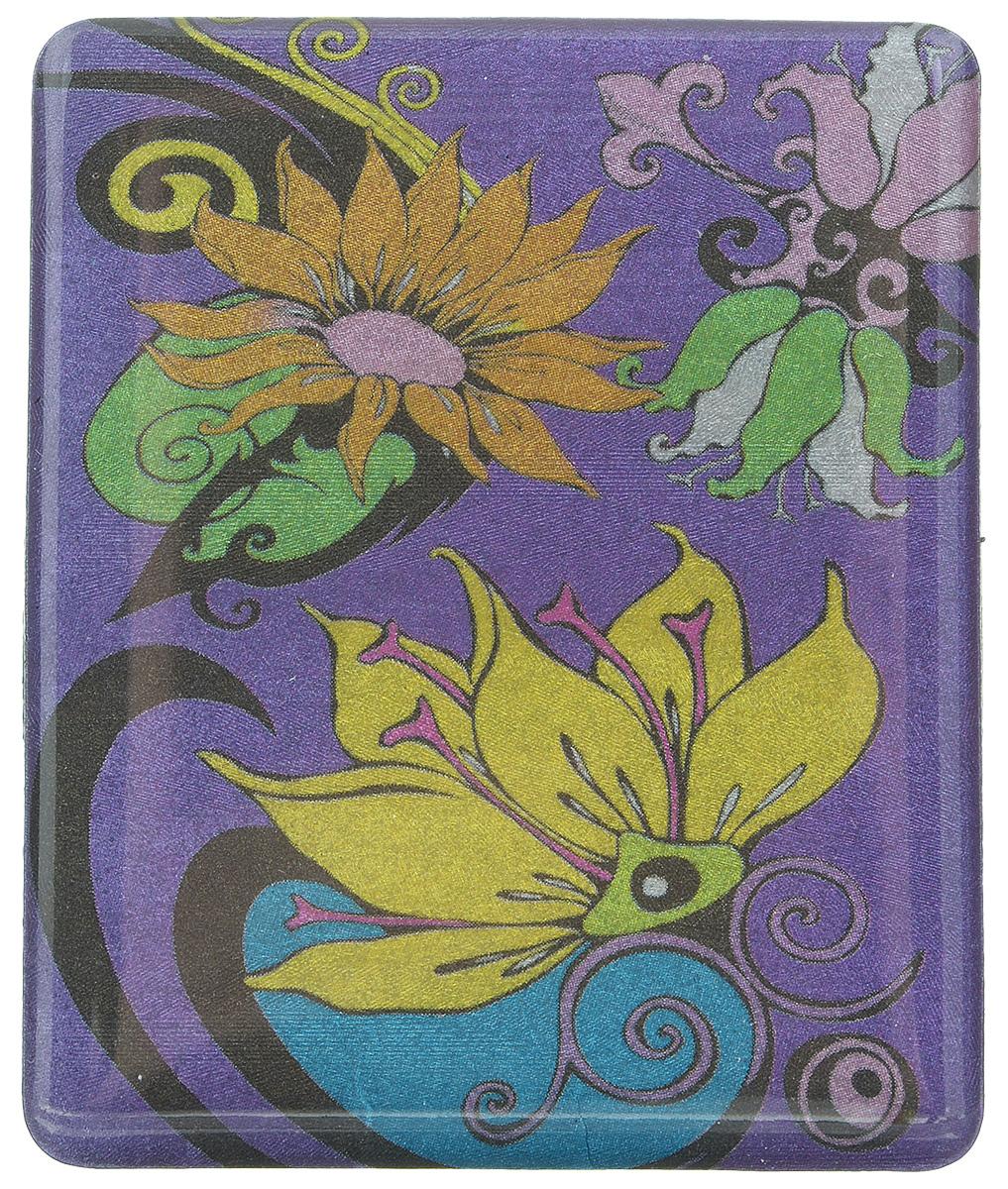 Магнит Феникс-презент Цветик, 4,5 x 5,5 см25051 7_желтыйМагнит прямоугольной формы Феникс-презент Цветик, выполненный из агломерированного феррита, станет приятным штрихом в повседневной жизни. Оригинальный магнит, декорированный изображением цветов, поможет вам украсить не только холодильник, но и любую другую магнитную поверхность. Материал: агломерированный феррит.