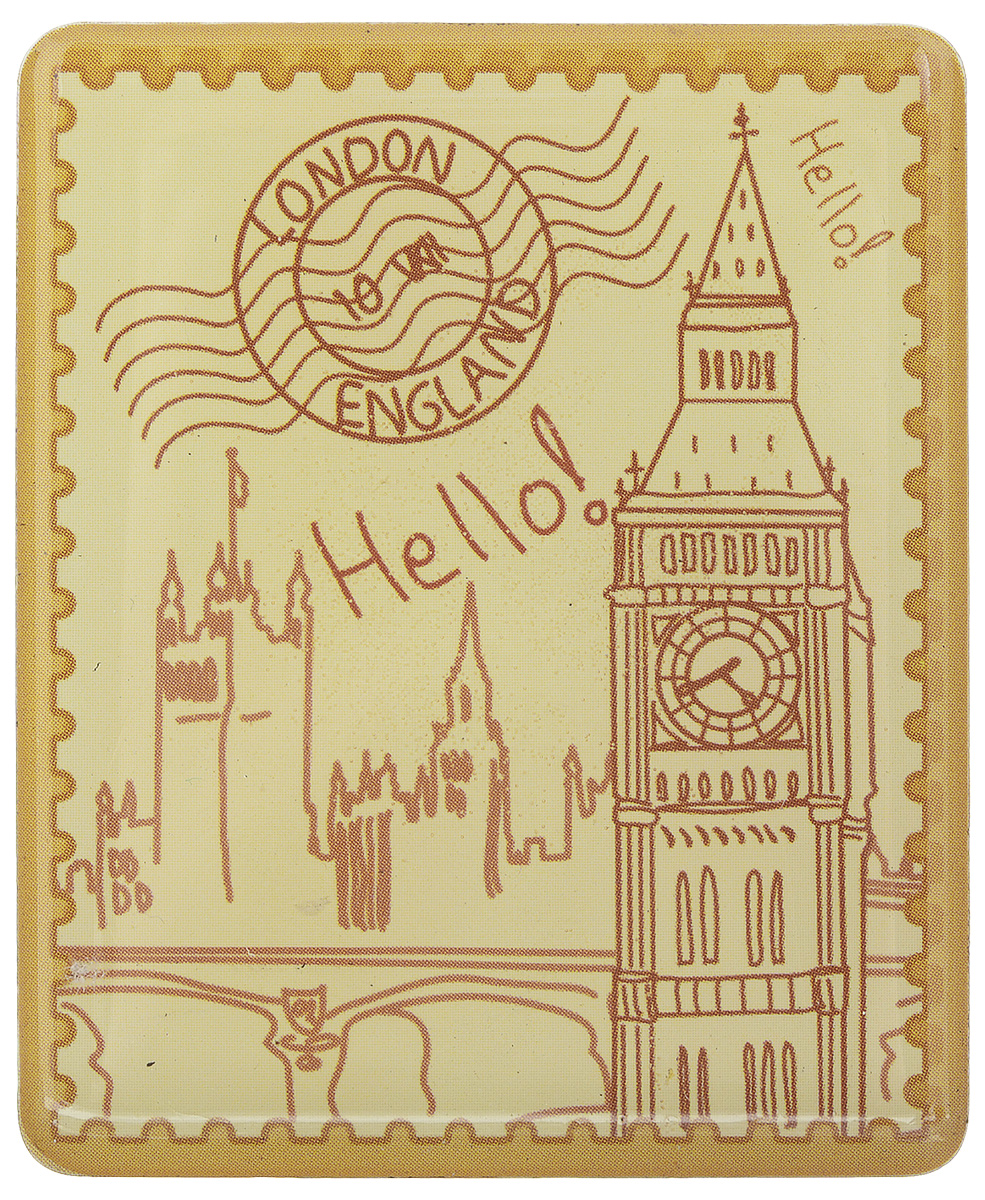 Магнит Феникс-презент Лондон, 4,5 x 5,5 смa030041Магнит прямоугольной формы Феникс-презент Лондон, выполненный из агломерированного феррита, станет приятным штрихом в повседневной жизни. Оригинальный магнит, декорированный изображением Биг-Бена, поможет вам украсить не только холодильник, но и любую другую магнитную поверхность. Материал: агломерированный феррит.