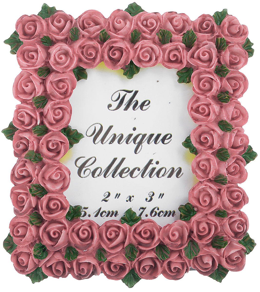 Декоративная фоторамка Home Queen Букет роз, цвет: бледно-розовый, 5,1 х 7,6 см41275Декоративная фоторамка Home Queen Букет роз поможет вам оригинально дополнить интерьер помещения. Фоторамка декорирована изображением роз. Задняя сторона оснащена ножкой для размещения на столе.Такая рамка позволит сохранить на память изображения дорогих вам людей и интересных событий вашей жизни, а также станет приятным подарком для каждого. Размер фотографии: 5,1 см х 7,6 см.Размер фоторамки: 8 см х 8,5 см.