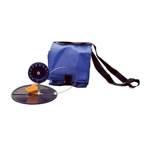 Набор жерлиц в сумке, цвет: синий, 90 мм, 5 шт140107-071Удобная и необходимая вещь, для ловли хищника на малька со льда. В комплект с жерлицами не входят двойники и тройники.