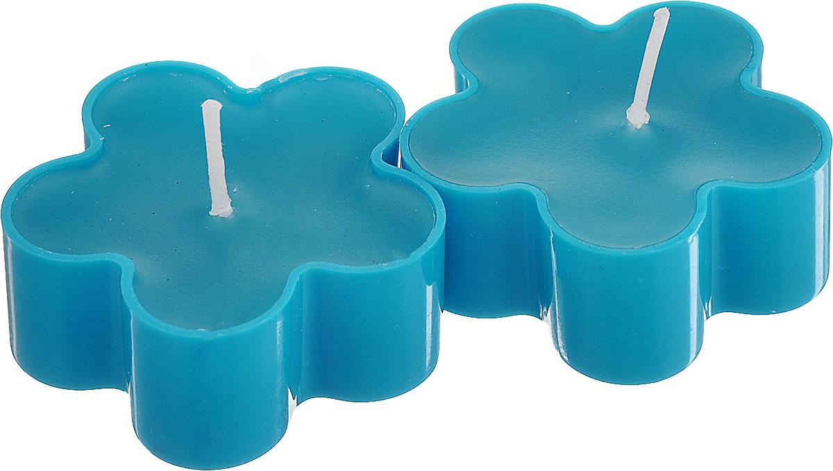 Набор декоративных свечей Lunten Ranta Цветик, цвет: голубой, 4,5 см х 4,5 см, 2 штCH2261Набор Lunten Ranta Цветик состоит из 2 декоративных свечей, изготовленных из парафина в пластиковых основах. Свечи в виде цветов украсят интерьер вашего дома или офиса и наполнят его атмосферу теплом и уютом.Размер свечи (по верхнему краю): 4,5 см х 4,5 см.