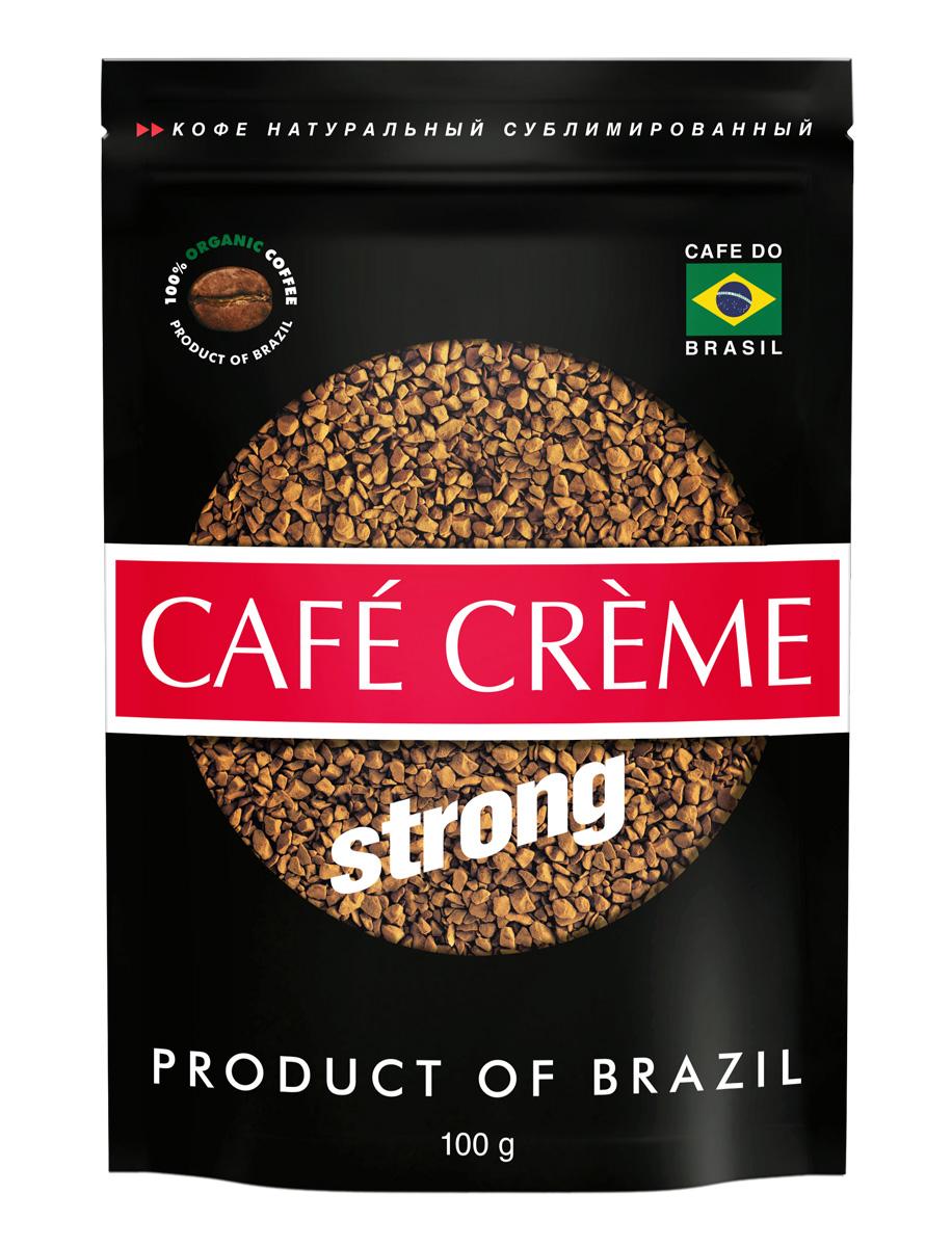 Cafe Creme кофе растворимый, 100 г101246Cafe Creme - растворимый кофе высшего качества. Добавив в этот напиток две чайные ложечки меда и лимонный сок по вкусу, можно приготовить легендарный напиток здоровья и долголетия, укрепляющий иммунитет. Именно его употребляют в течение дня жители Эспирито-Санто, горной местности на юго-востоке Бразилии, где произрастает один из лучших сортов бразильской арабики.Уважаемые клиенты! Обращаем ваше внимание на то, что упаковка может иметь несколько видов дизайна. Поставка осуществляется в зависимости от наличия на складе.