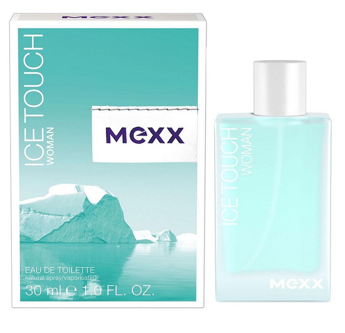 Mexx Туалетная вода Ice Touch Woman, женская, 30 мл58789542000Ice Touch от Mexx - аромат, в котором флиртуют жар и холод: лед тает, давая волю чувствам, опьяняя и разжигая страсть. Женщина Mexx Ice Touch толкает мужчин на безумства, она настолько дерзкая, что заставляет лед расколоться просто от одного своего взгляда. Классификация аромата: фруктовый, цветочный, водный. Пирамида аромата: Верхние ноты: ежевика, ледяной чай с лимоном, розовый перец. Ноты сердца: листья мяты, белый цикламен, цветы апельсина. Ноты шлейфа: кедр, малина, мускус.Верхняя нота: Цитрусы, Ежевика, Розовый перец, Акватические ноты.Средняя нота: Апельсиновый цвет, Цикламен, Кориандр, Мята.Шлейф: Амбра, Кедр, Малина, Мускус.Освежающий эффект водного аккорда подчеркивается прохладой листьев мяты.Дневной и вечерний аромат.