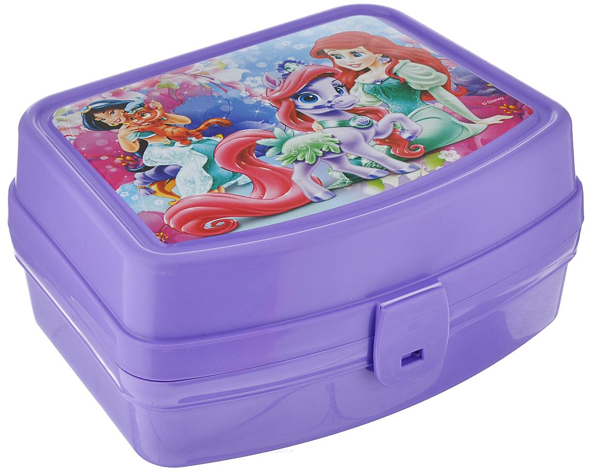 Контейнер Альтернатива Принцессы. Жасмин и Ариэль, цвет: сиреневый, 17 см х 14 см х 8 смМ3605_сиреневыйКонтейнер Альтернатива Принцессы. Жасмин и Ариэль выполнен из плотного пластика и имеет удобную крышку на пластиковой защелке.Этот контейнер очень универсален. В таком контейнере удобно хранить разнообразные продукты, брать с собой на работу, учебу. Он обеспечивает герметичность и надежность хранения продуктов. Также контейнер можно использовать хранения карандашей, ручек, фломастеров. Веселый дизайн контейнера порадует вашего ребенка.