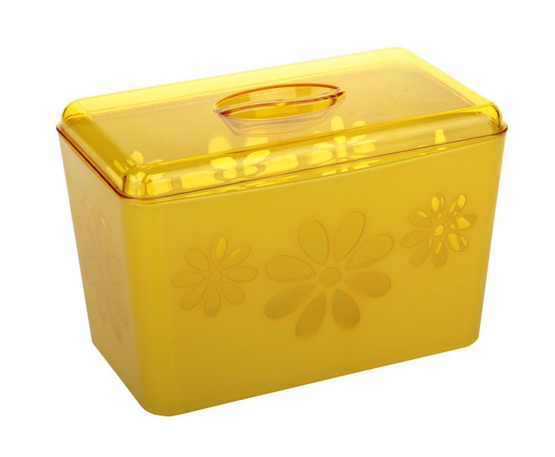 Хлебница Альтернатива Соблазн, цвет: желтый, 24 см х 14 см х 14,5 см21395599Хлебница Альтернатива Соблазн, изготовленная из пластика, обеспечивает идеальные условия хранения для различных видов хлебобулочных изделий, надолго сохраняя их свежесть и защищая от воздействия внешних факторов (запахов и влаги). Оснащена крышкой из прозрачного пластика. Такая хлебница идеально впишется в интерьер любой кухни и сохранит ваш хлеб свежим и вкусным.