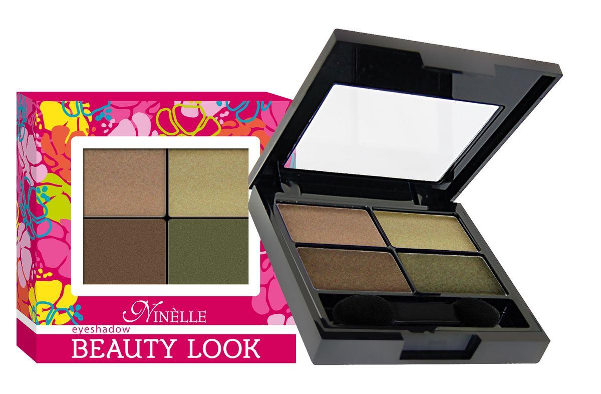 Ninelle Тени для век Beauty look, тон №673, 6 г тени ninelle набор теней для век fashion box марки ninelle 5
