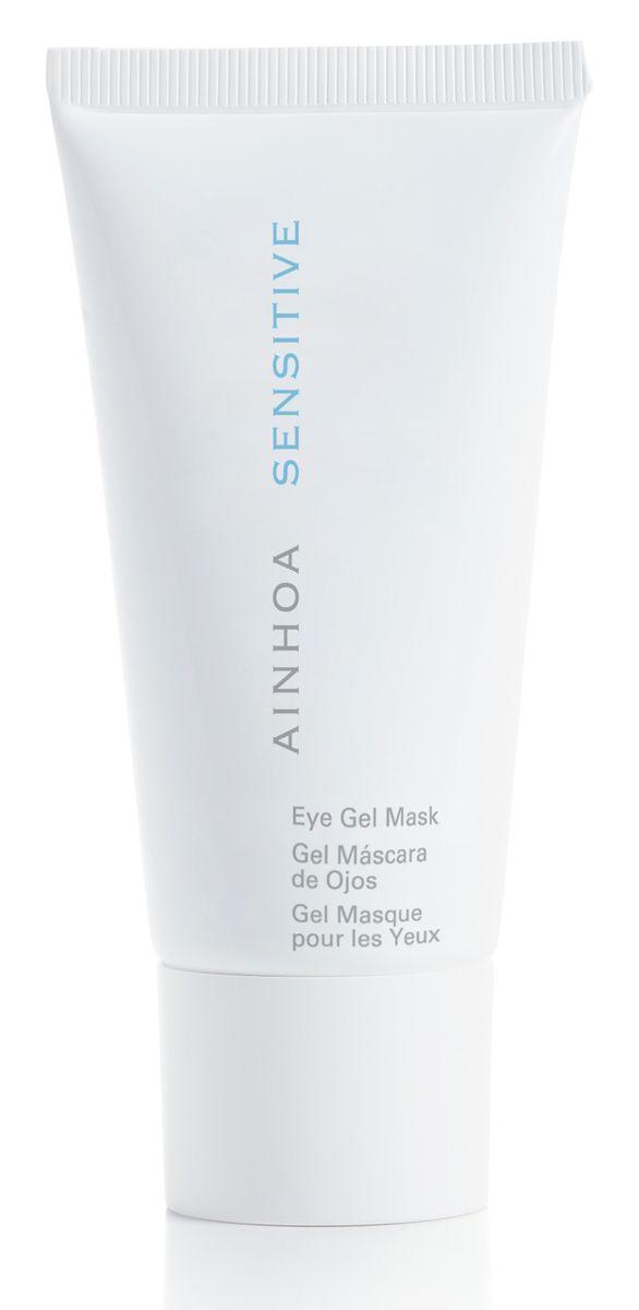 Ainhoa Sensitive Гель-маска для контура глаз, 50 млFS-00103Гель-маска моментально преображает кожу век, придает ей свежесть и упругость, избавляет от морщинок, насыщает кожу кислородом. Пантенол, входящий в состав, прекрасно успокаивает чувствительную кожу век, а экстракты гамамелиса и сладкого миндаля помогают избавиться от темных кругов и отечности кожи век. Маска является незаменимым средством для жителей больших городов с плохой экологией и тех, кто много времени проводит перед компьютером. Активные компоненты экстракты гамамелиса и сладкого миндаля, пантенол, кофеин. Способ применения: вечером нанести небольшое количество маску на кожу вокруг глаз. Оставить на всю ночь или на 15-20 минут. Удалить с помощью влажного ватного диска или спонжа.
