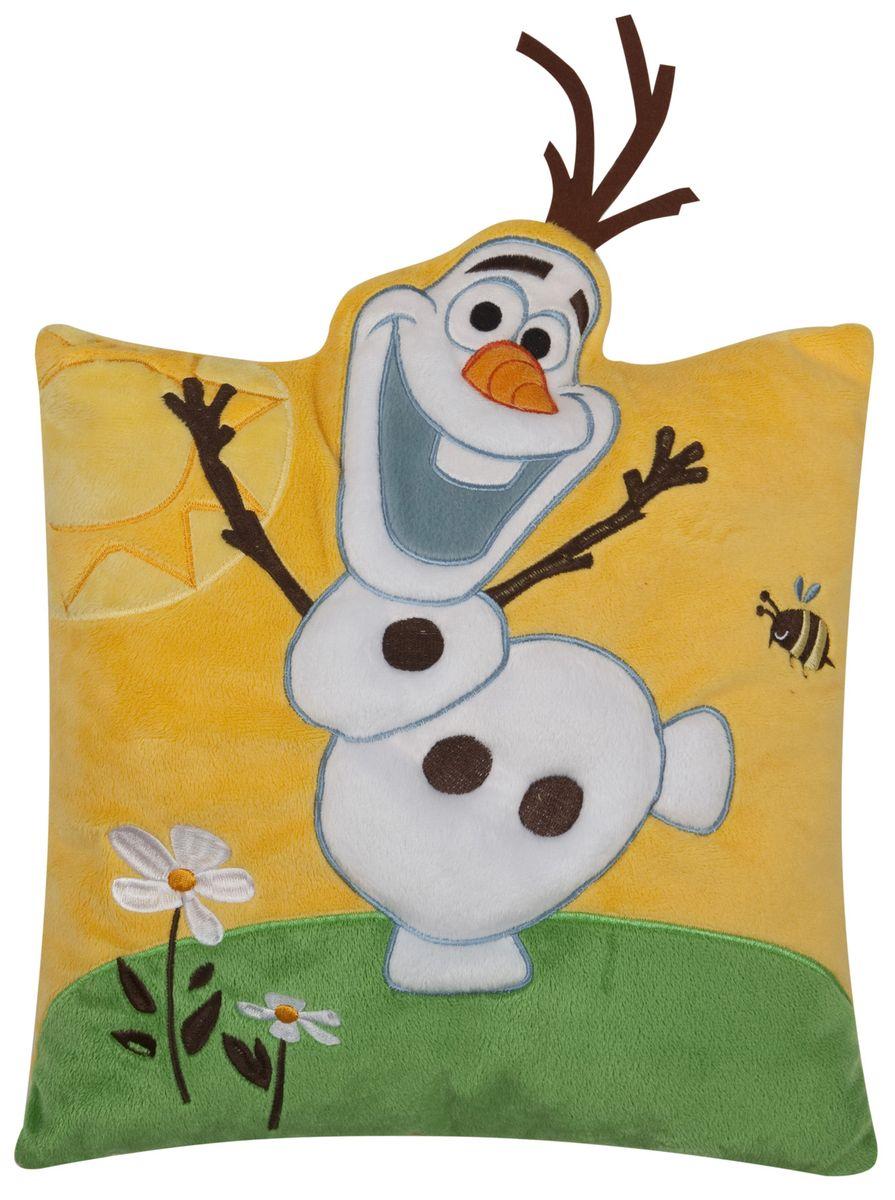 Disney Подушка Frozen Холодное сердце  Olaf, размер 33 х 33 см - Детский текстиль