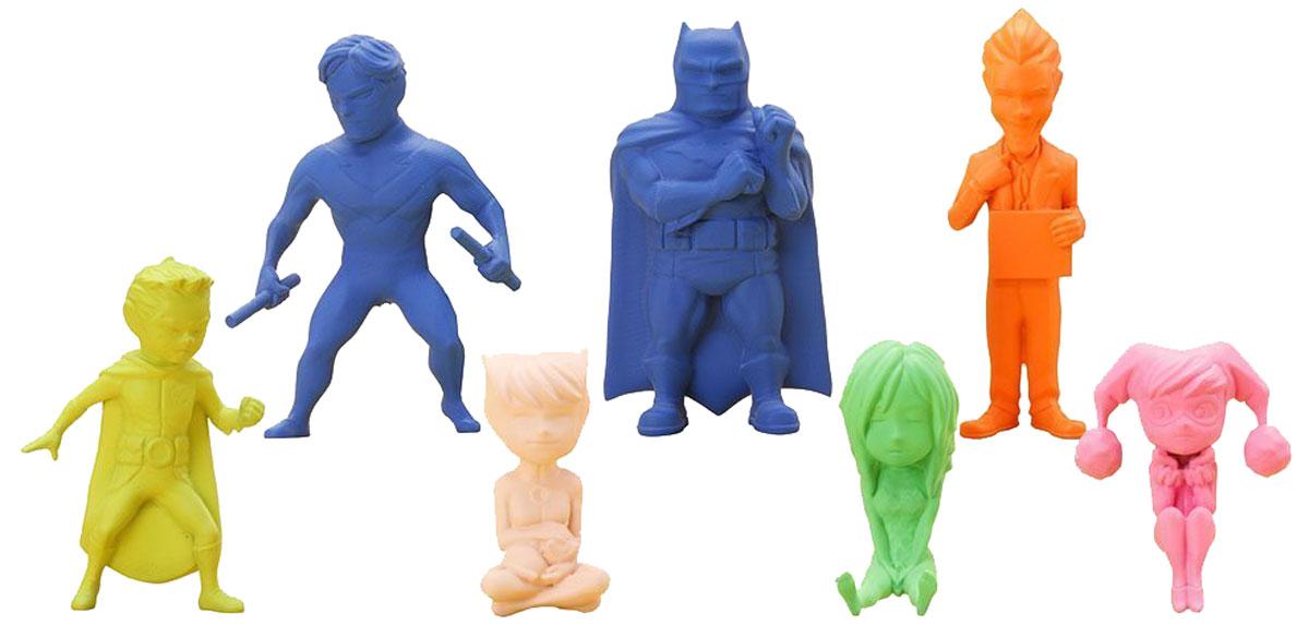Бэтмен.  Мини-фигурки Маленький Готэм Kotobukiya