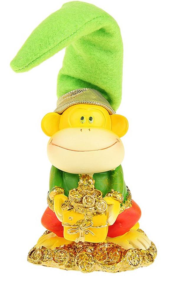 Сувенир Sima-land Обезьянка в колпаке с монетками, высота 12 смNLED-454-9W-BKСувенир Sima-land Обезьянка в колпаке с монетками выполнен из высококачественного полистоуна в виде забавной обезьянки в текстильном колпаке. Такой сувенир станет отличным подарком родным или друзьям на Новый год, а также он украсит интерьер вашего дома или офиса.