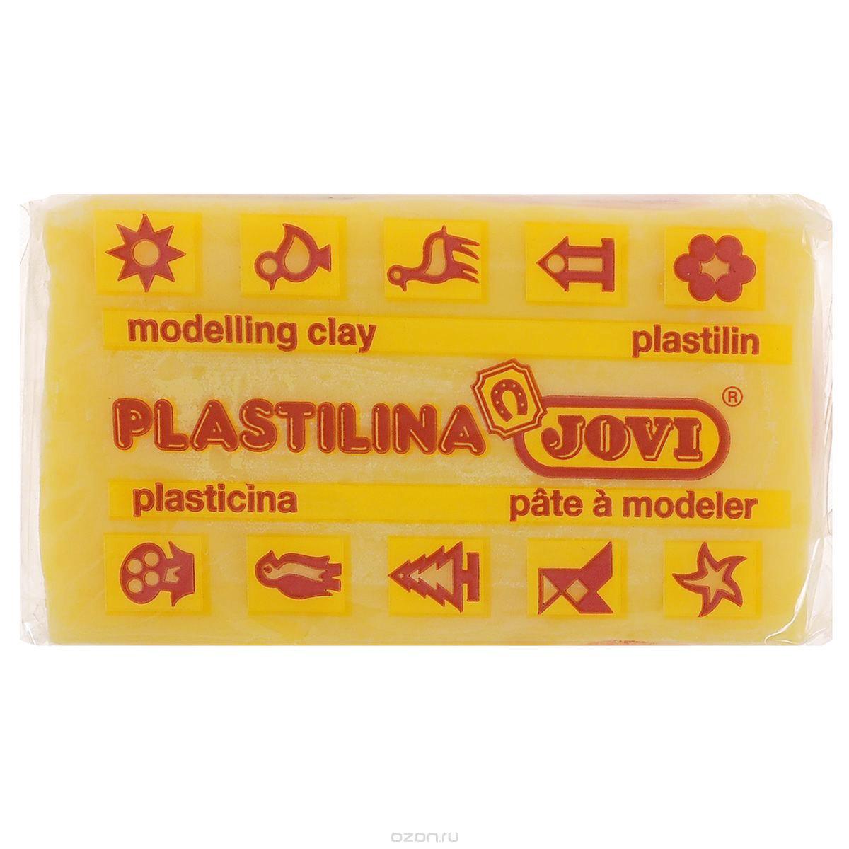 Jovi Пластилин цвет темно-желтый 50 г72523WDПластилин Jovi - лучший выбор для лепки, он обладает превосходными изобразительными возможностями и поэтому дает простор воображению и самым смелым творческим замыслам. Пластилин, изготовленный на растительной основе, очень мягкий, легко разминается и смешивается, не пачкает руки и не прилипает к рабочей поверхности. Пластилин пригоден для создания аппликаций и поделок, ручной лепки, моделирования на каркасе, пластилиновой живописи - рисовании пластилином по бумаге, картону, дереву или текстилю. Пластические свойства сохраняются в течение 5 лет.