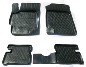 Коврики в салон автомобиля L.Locker, для Kia Rio III sd (09-), 4 штFS-80264Коврики L.Locker производятся индивидуально для каждой модели автомобиля из современного и экологически чистого материала. Изделия точно повторяют геометрию пола автомобиля, имеют высокий борт, обладают повышенной износоустойчивостью, антискользящими свойствами, лишены резкого запаха и сохраняют свои потребительские свойства в широком диапазоне температур (от -50°С до +80°С). Рисунок ковриков специально спроектирован для уменьшения скольжения ног водителя и имеет достаточную глубину, препятствующую свободному перемещению жидкости и грязи на поверхности. Одновременно с этим рисунок не создает дискомфорта при вождении автомобиля. Водительский ковер с предустановленными креплениями фиксируется на штатные места в полу салона автомобиля. Новая технология системы креплений герметична, не дает влаге и грязи проникать внутрь через крепеж на обшивку пола.