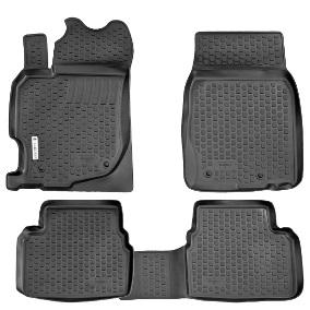 Коврики в салон Mazda CX-9 (07-)(3 ряда сидений) полиуретанВетерок 2ГФКоврики производятся индивидуально для каждой модели автомобиля из современного и экологически чистого материала, точно повторяют геометрию пола автомобиля, имеют высокий борт от 3 см до 4 см., обладают повышенной износоустойчивостью, антискользящими свойствами, лишены резкого запаха, сохраняют свои потребительские свойства в широком диапазоне температур (-50 +80 С)